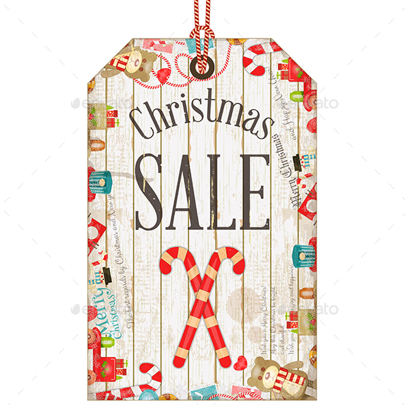 Christmas Sale Tag - Christmas Seasons/Holidays