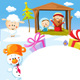 Nativity in Bethlehem with Animals - GraphicRiver Item for Sale