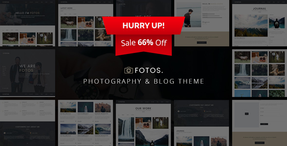 Fotos - Responsive Photography Theme