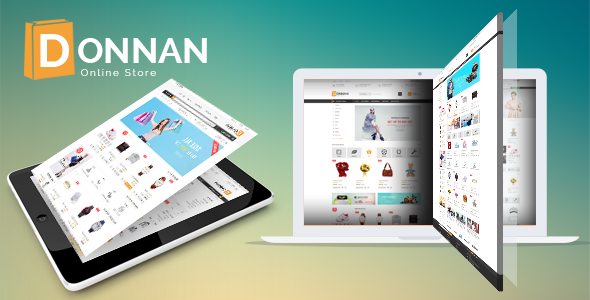 Donnan - eCommerce Fashion Template - Fashion Retail