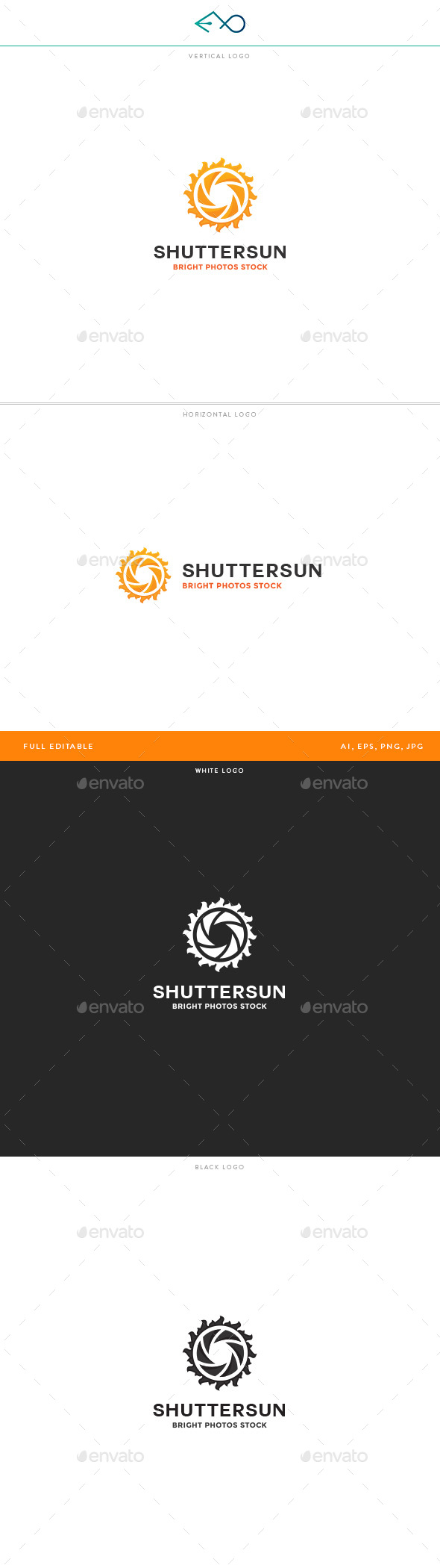 ShutterSun Logo - Objects Logo Templates