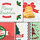 5 Vintage Christmas Cards - GraphicRiver Item for Sale