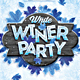 White Winter Party - GraphicRiver Item for Sale