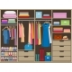 Wardrobe Room Full of Woman's Cloths. Flat Style - GraphicRiver Item for Sale