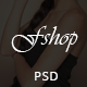 FShop - Fashion/Clothing eCommerce PSD Template - ThemeForest Item for Sale