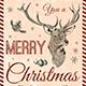 Christmas Menu Template V8 - GraphicRiver Item for Sale
