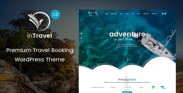 inTravel | Travel, Booking Tour WordPress Theme