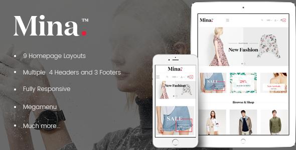 Ap Mina Responsive Prestashop Theme - PrestaShop eCommerce