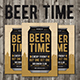 Beer Hour Time Flyer