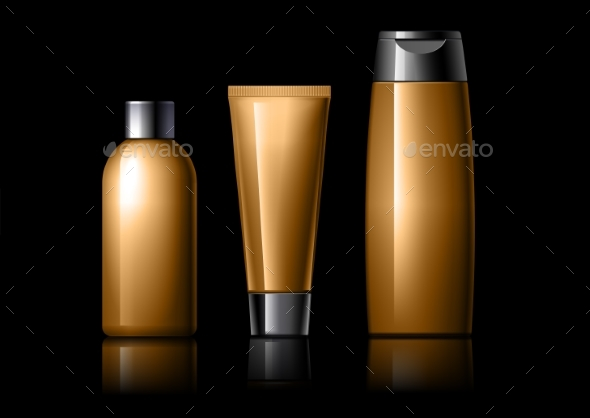 Realistic Cosmetic Bottle Can Sprayer Container. - Retail Commercial / Shopping