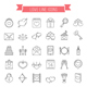 Love Line Icons - GraphicRiver Item for Sale
