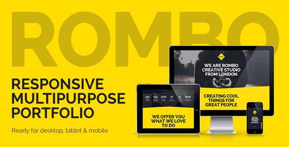 Rombo – Responsive Multipurpose Portfolio Muse Template