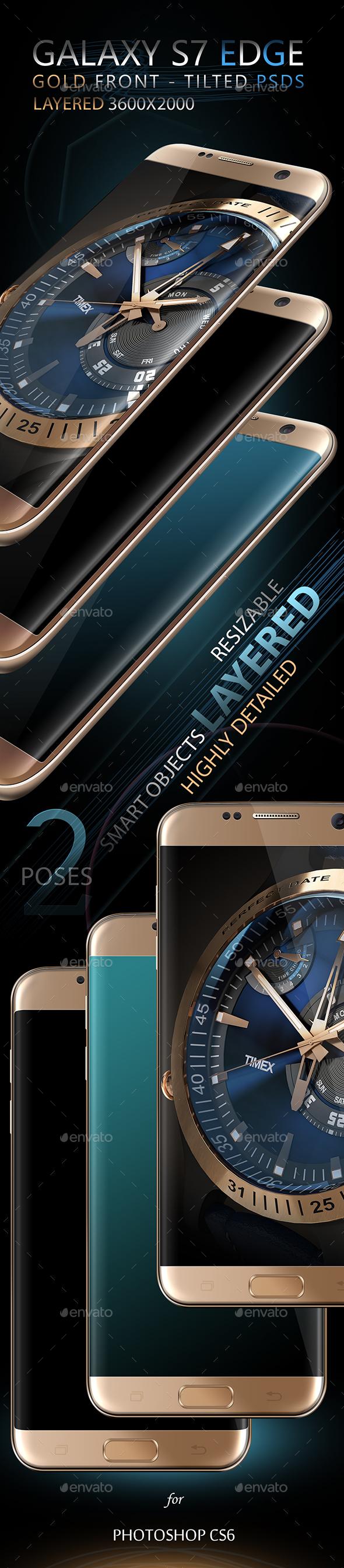 S7 Edge Mock-Ups - Mobile Displays