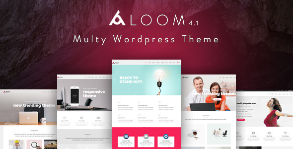 Aloom - Responsive MultiPurpose WordPress Theme - Business Corporate