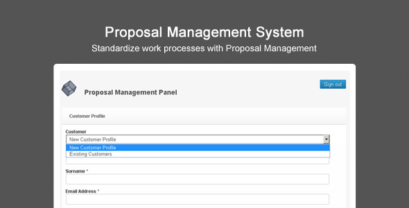 Proposal Management System By Purehead  Codecanyon