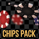 Flying Poker Chips Pack - VideoHive Item for Sale