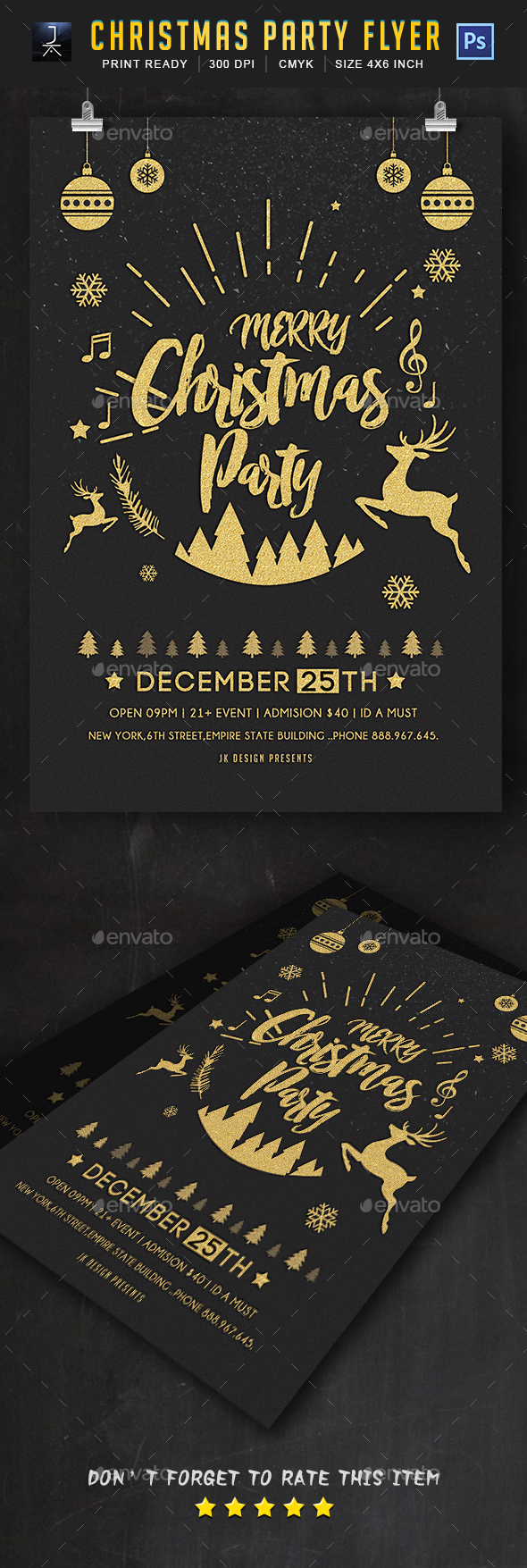Christmas Flyer - Print Templates