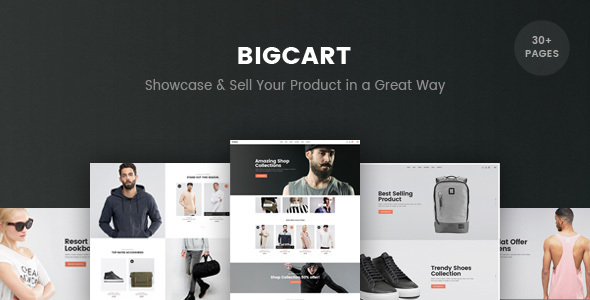 Bigcart – eCommerce PSD Template