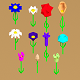 Low Poly Flowers - 3DOcean Item for Sale