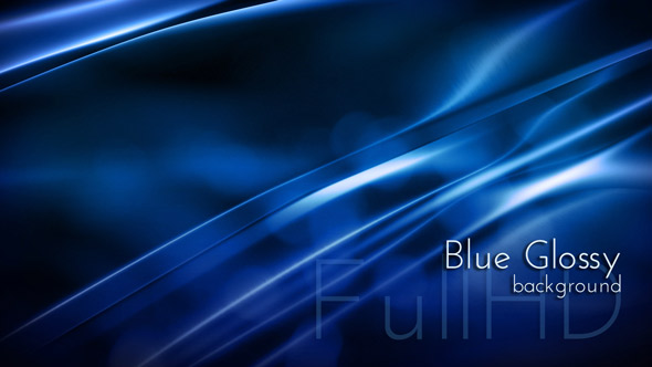 Dark Blue Glossy Background by cinema4design | VideoHive