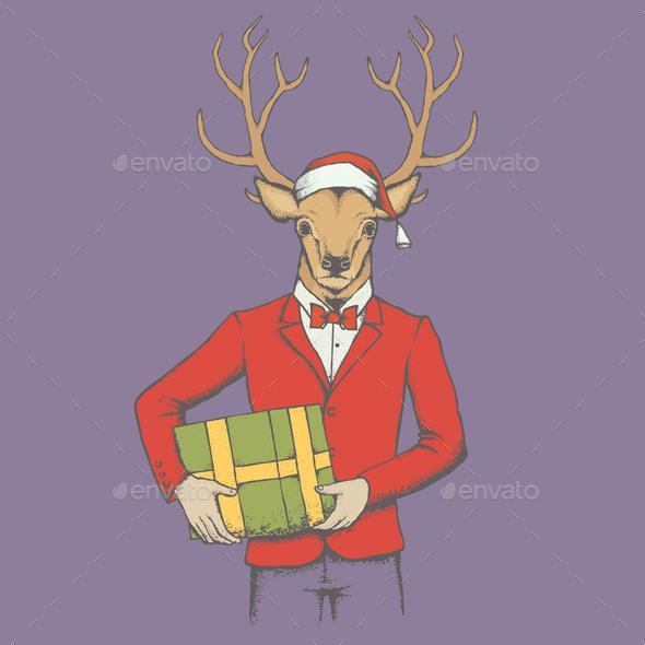 Deer - Christmas Seasons/Holidays