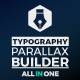 Big Typo Parallax Presentation Builder - VideoHive Item for Sale