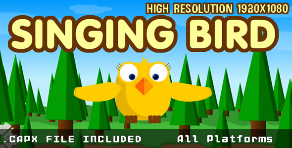 Singging Bird + HTML5 + (.CAPX) MOBILE - CodeCanyon Item for Sale