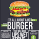 Burger / Grill Flyer - GraphicRiver Item for Sale