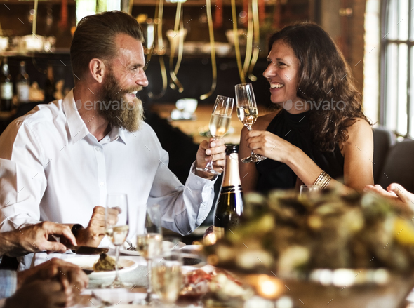 Restaurant Chilling Out Classy Lifestyle Reserved Concept - Stock Photo - Images