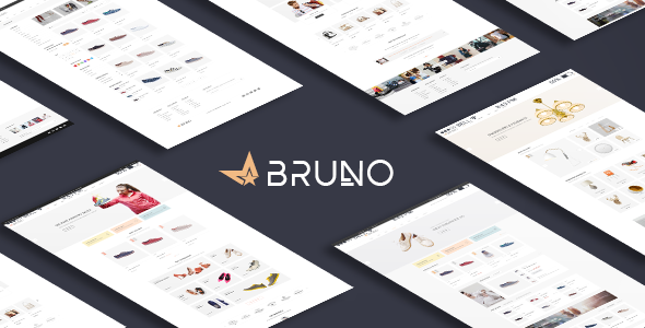 Bruno – Responsive Fashion Magento Theme