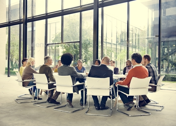 Business People Meeting Conference Corporate Concept - Stock Photo - Images