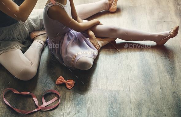 Ballet Dancer Training School Concept - Stock Photo - Images