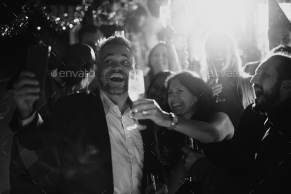 People Party Celebration Drinks Cheers Happiness Concept - Stock Photo - Images