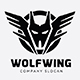 Wolf Wing Logo - GraphicRiver Item for Sale