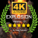 4K Epic Explosion Ver.01 - VideoHive Item for Sale