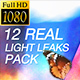 Light Leaks Vol 1 - VideoHive Item for Sale