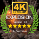 4K Epic Explosion Ver.02 - VideoHive Item for Sale