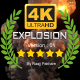 4K Epic Explosion Ver.03 - VideoHive Item for Sale