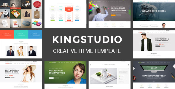 Kingstudio – MultiPurpose HTML Template