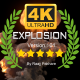 4K Epic Explosion Ver.04 - VideoHive Item for Sale