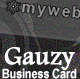 Gauzy Business Card (TRANSPARENT) - GraphicRiver Item for Sale