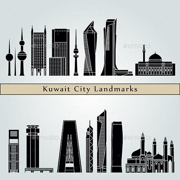 Kuwait City V2 Landmarks and Monuments