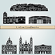 Lisbon Landmarks and Monuments - GraphicRiver Item for Sale