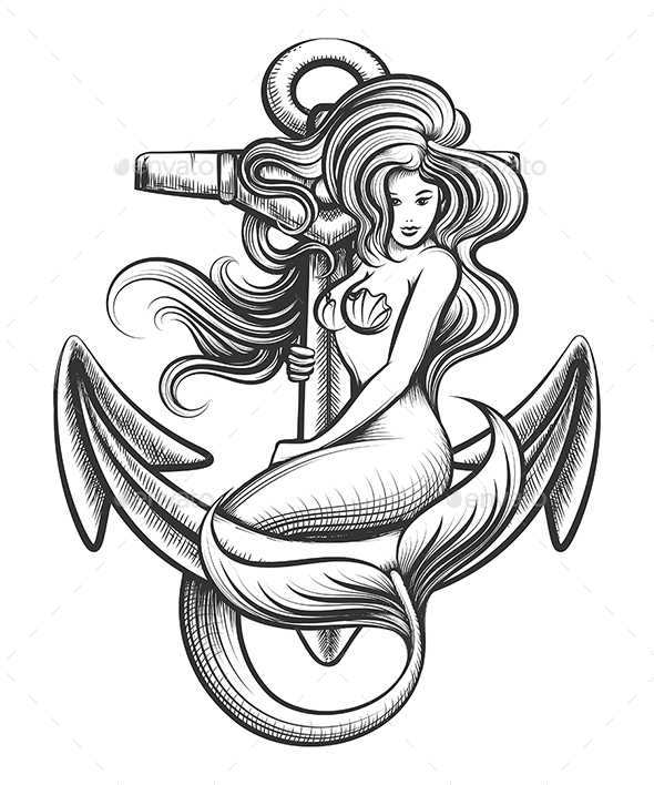 Mermaid on the Anchor - Miscellaneous Characters