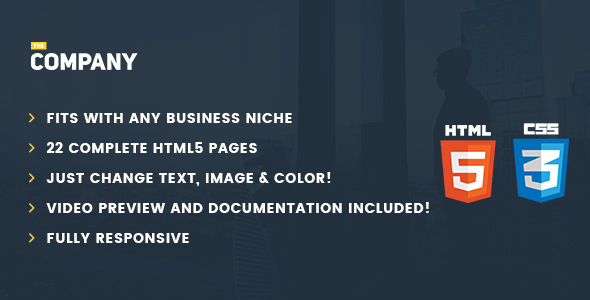 The Company – Ultimate Business Template for Any Niche