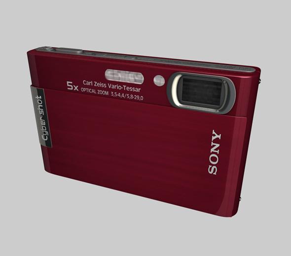 Sony Pocket Camera - 3DOcean Item for Sale