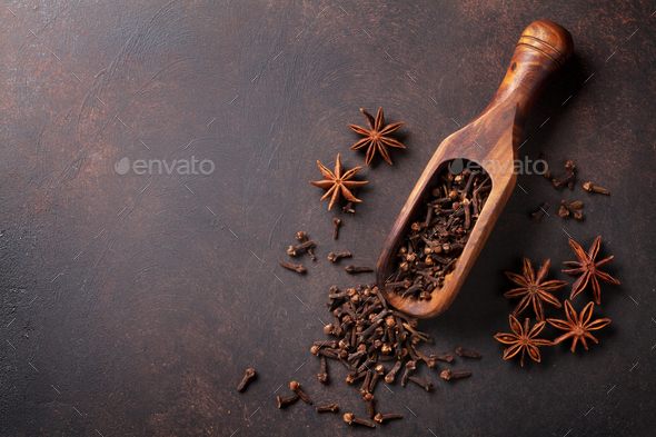 Mulled wine spices - Stock Photo - Images