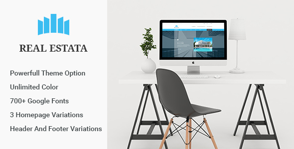 Real Estata – Real Estate WordPress Theme