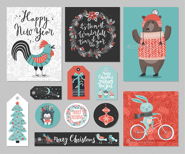 Christmas Card Set - Christmas Seasons/Holidays