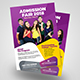Admission Fair Flyer Template - GraphicRiver Item for Sale